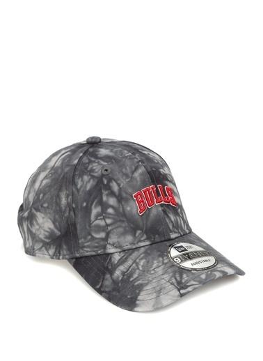 New Era New Era Chicago Bulls  Batik Desenli Erkek Şapka 101583769 Siyah